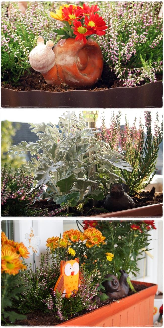 Herbstbalkonien