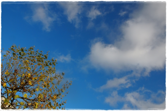 Herbsthimmel